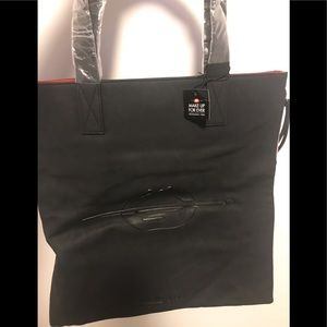 Make up forever tote bag and pouches